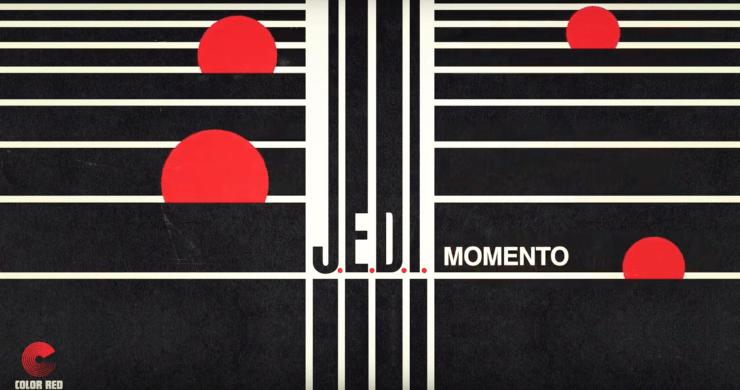 J.E.D.I., Aaron Johnston, Aaron Johnston's J.E.D.I., J.E.D.I. Momento, J.E.D.I. new song, Borahm Lee, Eddie Roberts. Color Red. Josh Fairman, Dominic Lalli