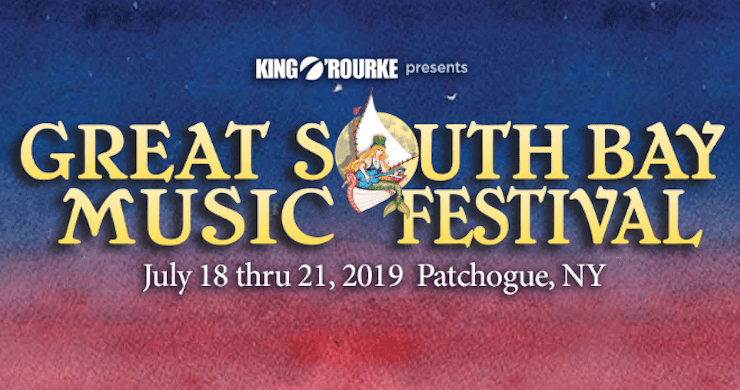 Great South Bay Music Festival, Great South Bay Music Festival 2019 Lineup