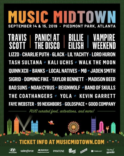 music midtown, music midtown 2019 lineup, music midtown tickets, music midtown atlanta, music midtown travis scott