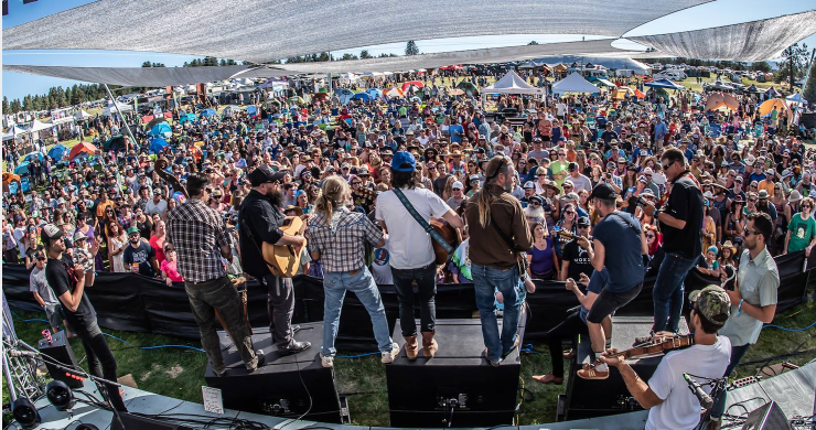 4 peaks music festival, 4 peaks music festival 2019, 4 peaks music festival lineup, the wood brothers, los lobos, billy strings, sonny landreth, rising appalachia, the lil smokies, poor man's whiskey, sister sparrow & the dirty birds