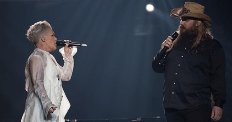 "Chris Stapleton Joins P!nk To Perform ""Love Me Anyway"" Duet During NYC Performance [Watch]"