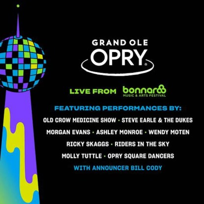 Bonnaroo 2019, Bonnaroo tickets, Bonnaroo 2019 lineup, Bonnaroo Grand Ole Opry, Grand Ole Opry Bonnaroo