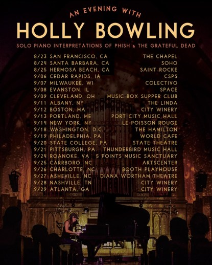 holly bowling, holly bowling music, holly bowling piano, holly bowling videos, holly bowling phish, holly bowling grateful dead, holly bowling solo tour, ghost light, ghost light band, ghost light music, ghost light tour, ghost light jam, ghost light audio