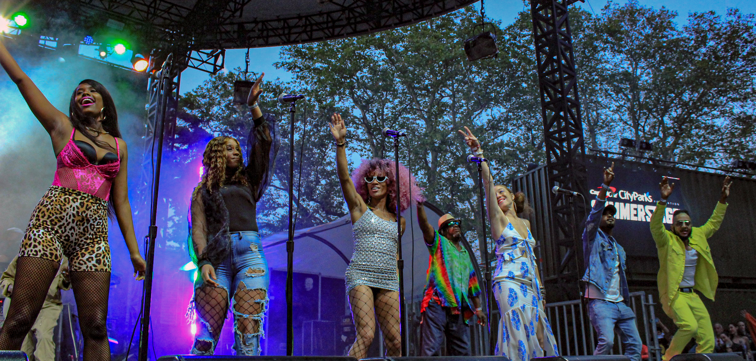 George Clinton Gathers The Best Of The Best For A Funky Throwdown In Central Park [Photos]