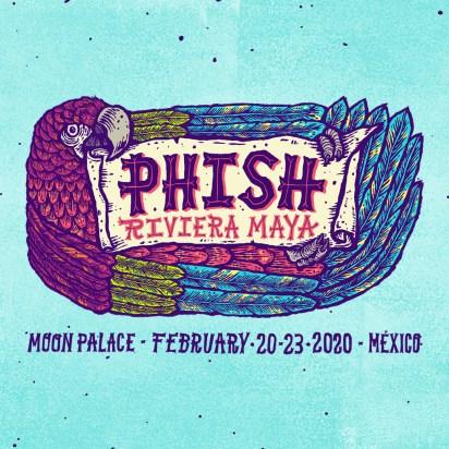 Phish, Phish Mexico, Phish Riviera Maya, Phish Riviera Maya 2020