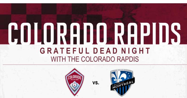 colorado rapids grateful dead night, colorado rapids grateful dead, colorado rapids, grateful dead, grateful dead night