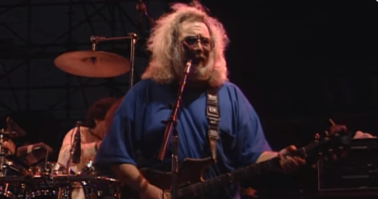 grateful dead shakedown street, grateful dead video, grateful dead soldier field, grateful dead chicago, grateful dead, jerry garcia, phil lesh, bruce hornsby, vince welnick, bill kreutzmann, mickey hart