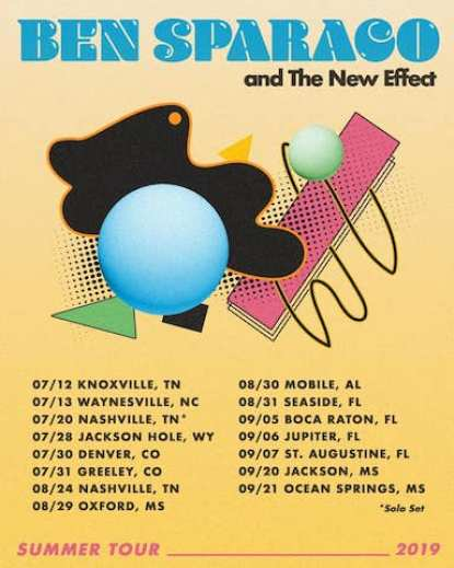 Ben Sparaco & The New Effect, Ben Sparaco & The New Effect tour, Ben Sparaco & The New Effect tickets, Ben Sparaco & The New Effect music