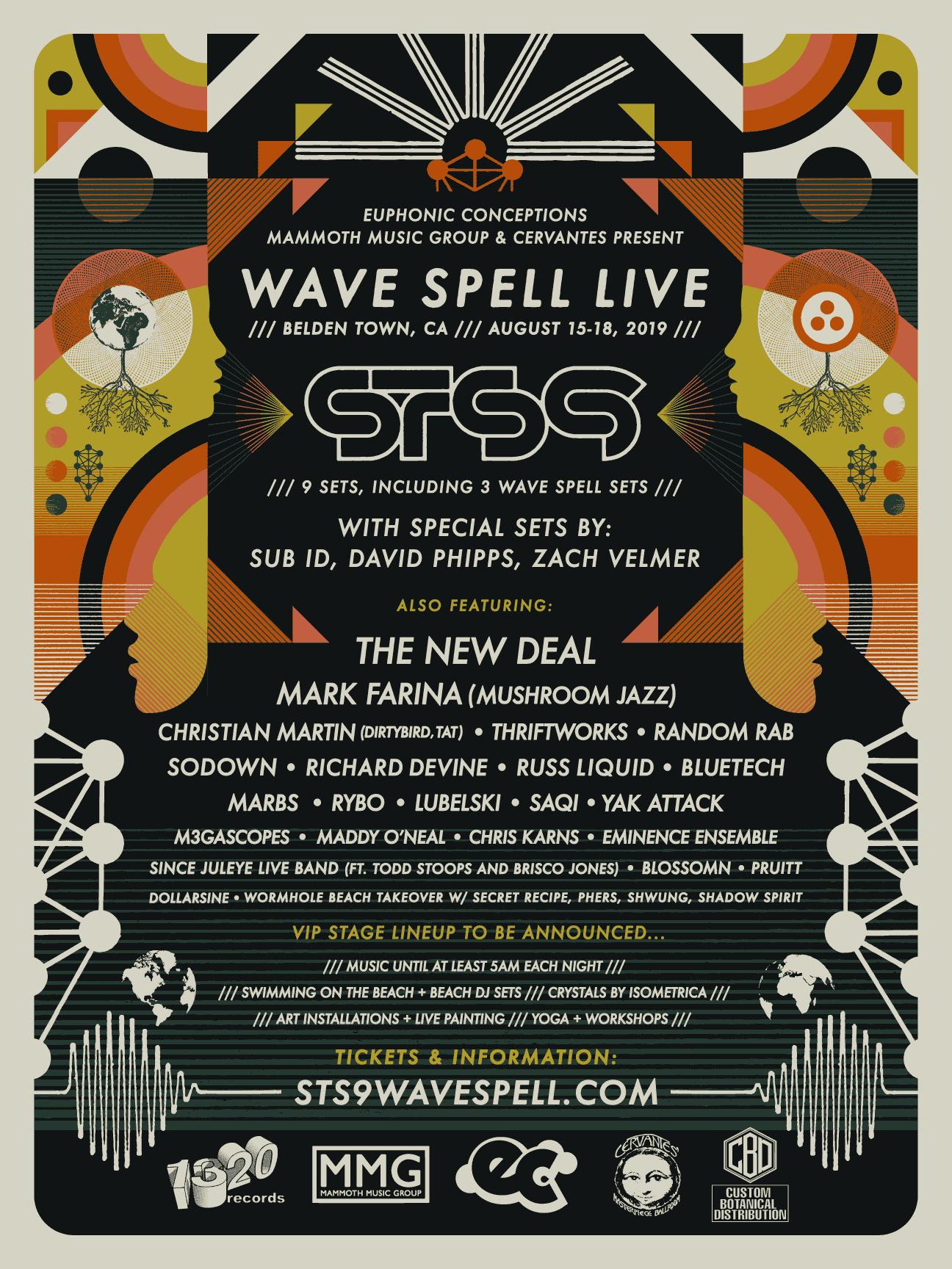 Wave Spell, STS9, STS9 Wave Spell, Wave Spell Festival