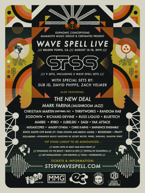 sts9, wave spell live