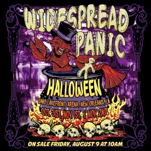 Widespread Panic, WSP, Widespread Panic Halloween