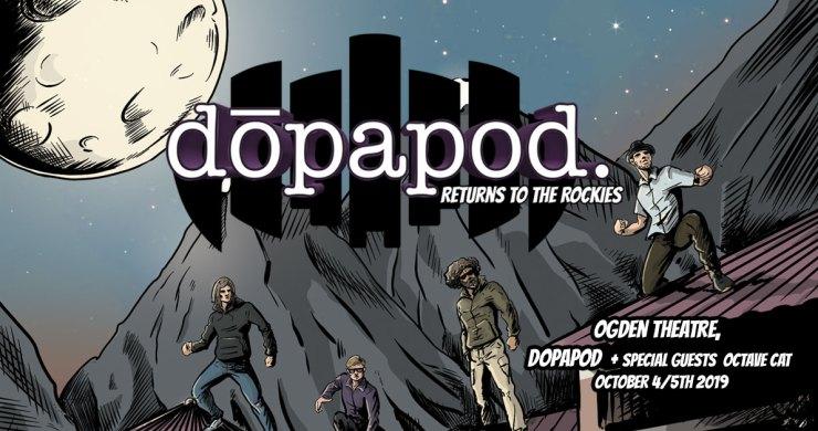 Dopapod Ogden Theatre, Dopapod, Octave Cat
