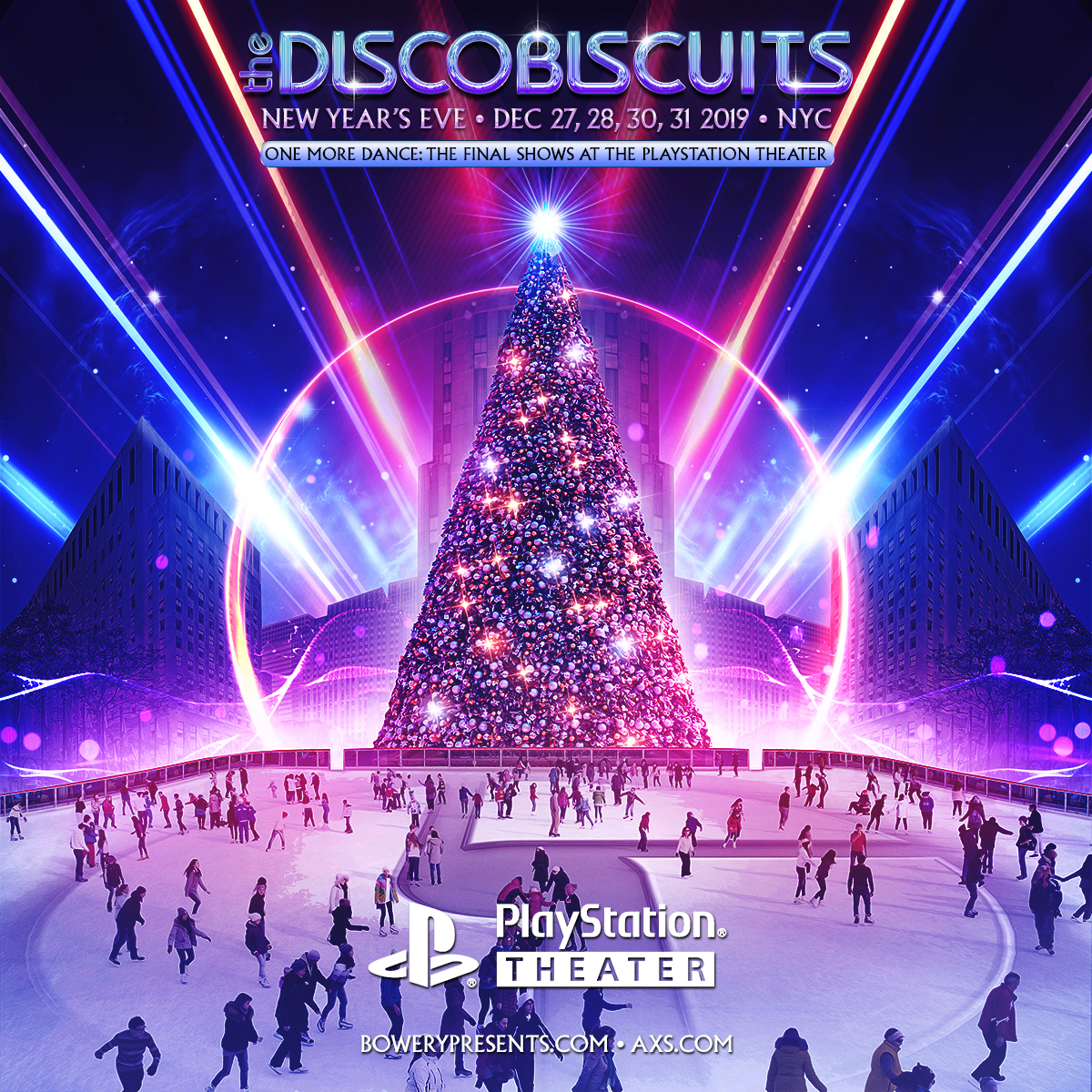 disco biscuits nye, disco biscuits playstation theater