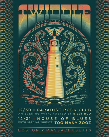 twiddle, twiddle 2019, twiddle new year's eve, twiddle boston, twiddle tickets