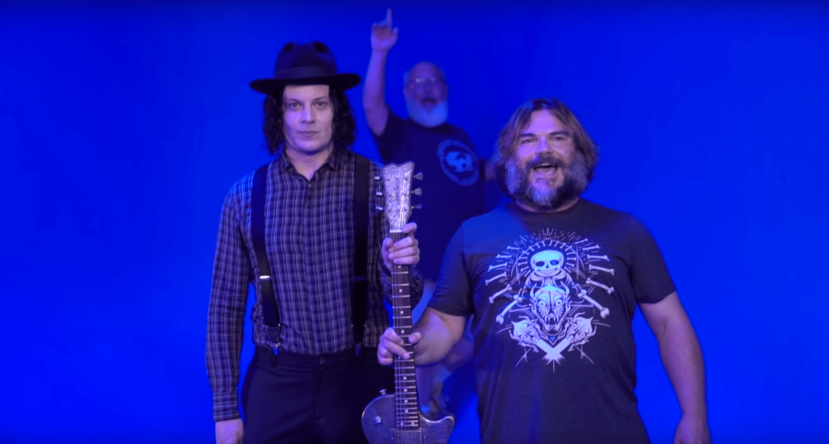 Tenacious D & Jack White Record A Track Together In Nashville [Watch]