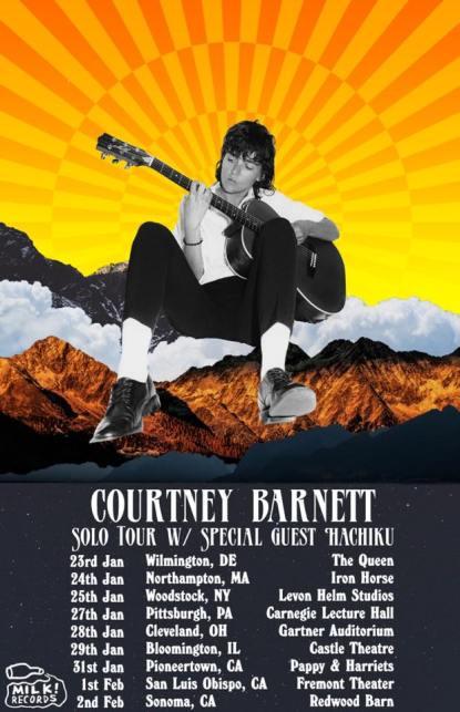 courtney barnett, courtney barnett music, courtney barnett tour, courtney barnett solo, courtney barnett 2020