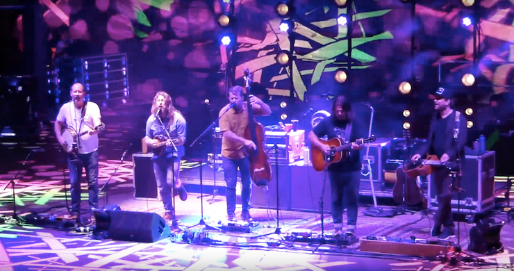 Greensky Bluegrass Welcomes Rayland Baxter, Debuts New Song At Red Rocks Night Two [Videos]