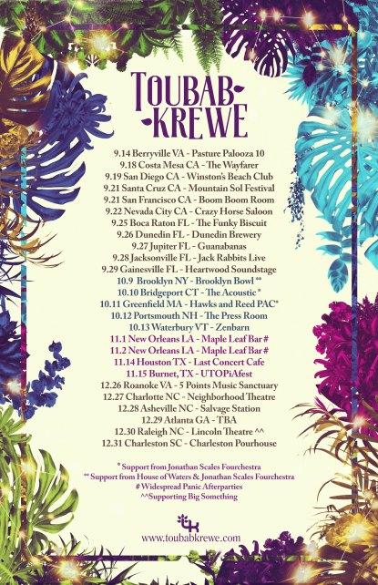 toubab krewe 2019 tour