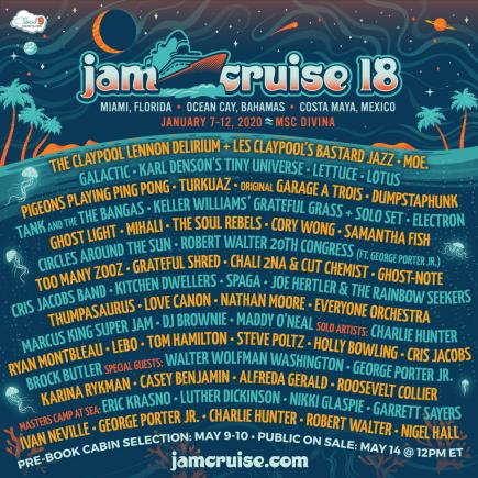 jam cruise 18 lineup