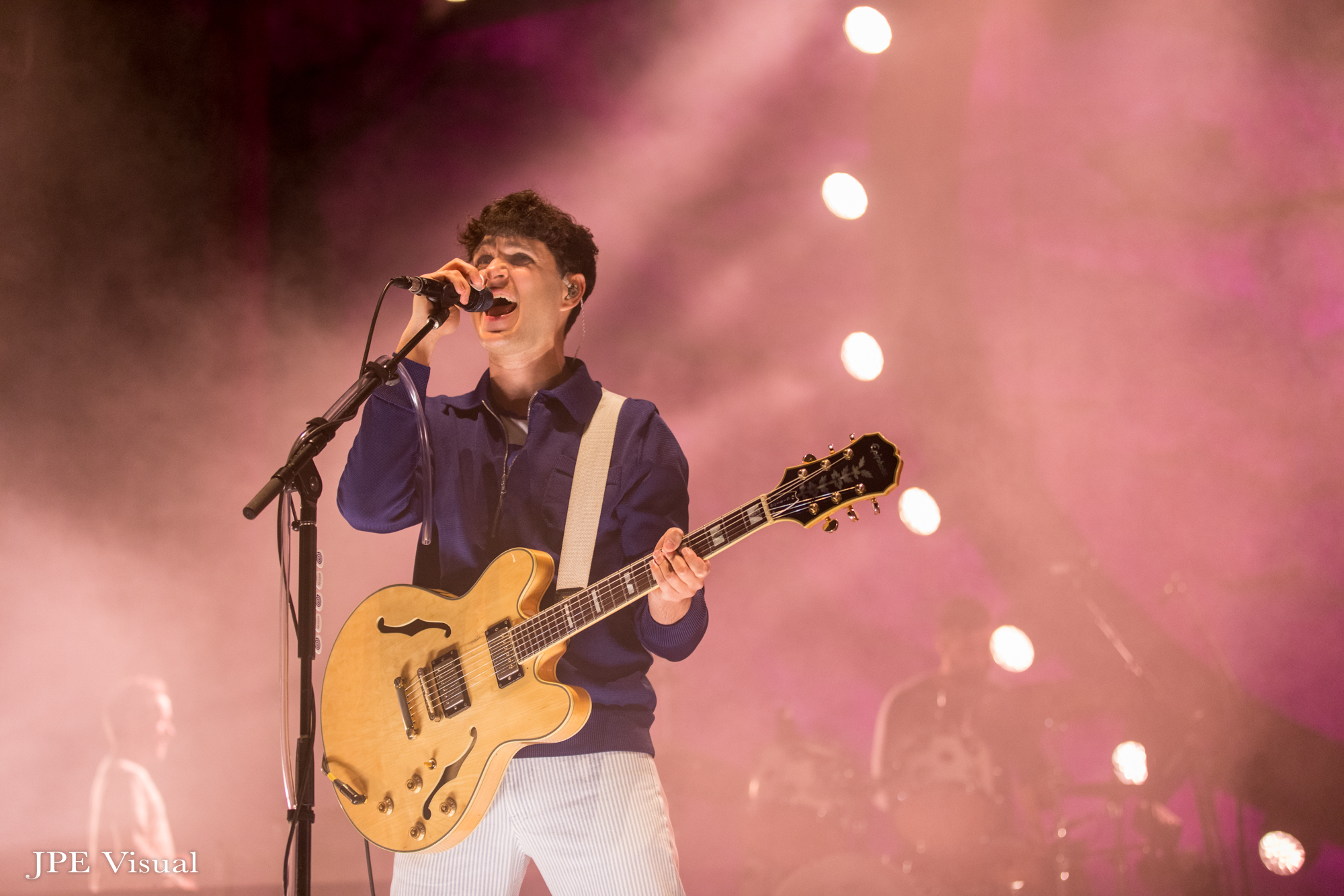 Vampire Weekend Offers Up Career-Spanning Performance On Night One At Red Rocks [Photos]