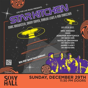 Star Kitchen Sony Hall
