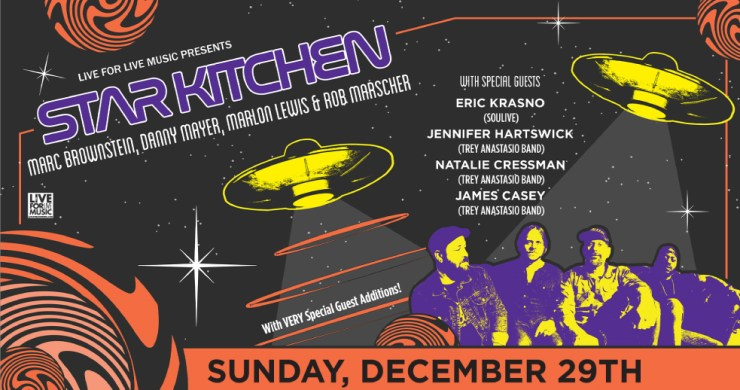 Star Kitchen, Star Kitchen sony hall, star kitchen tour, star kitchen disco biscuits, phish late-night, disco biscuits late night, star kitchen tickets