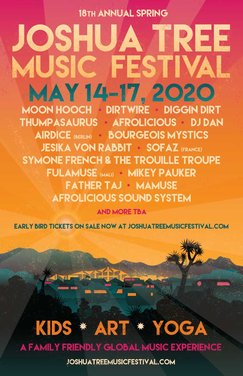 Bi Mart Country Music Festival 2020.Spring Joshua Tree Music Festival Announces 2020 Lineup