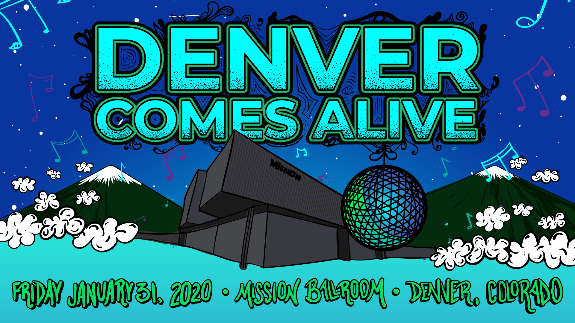 Denver Comes Alive Reveals All-Star Artists, Unique Supergroups, Special Tribute Sets For Inaugural Event