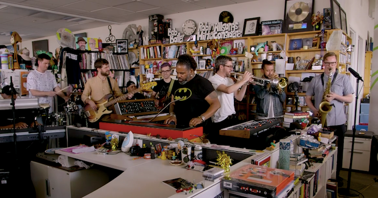 Snarky Puppy Brings Jazz-Fusion To NPR With 'Tiny Desk Concert' Performance [Watch]