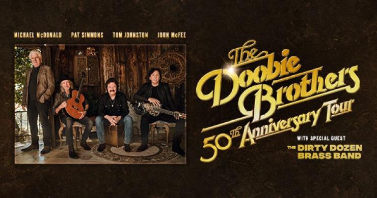 doobie brothers, doobie brothers tour, doobie brothers michael mcdonald, doobie brothers 50th anniversary, doobie brothers tickets