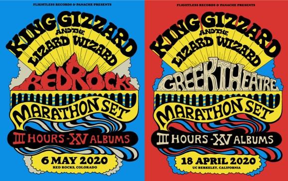 king gizzard red rocks, king gizzard greek