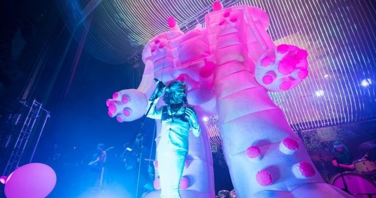 The Flaming Lips, tour, west coast, spring, 2020, dates