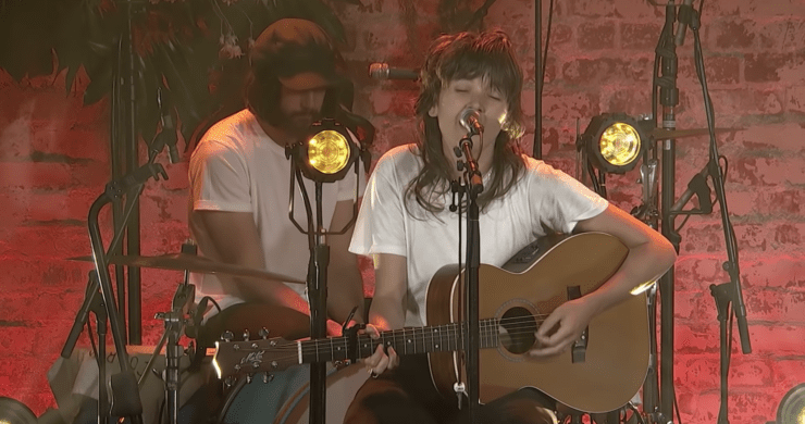 Courtney Barnett, Leonard Cohen, cover, So Long Marianne, MTV Unplugged Live in Melbourne, indie, acoustic, Australia