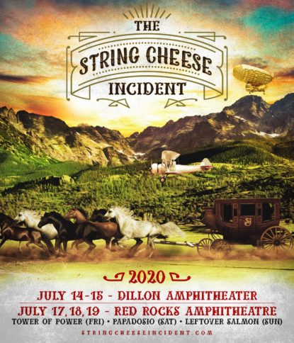 String Cheese Colorado, The String Cheese Incident, String Cheese, String Cheese Incident, Dillon Amphitheater, Red Rocks Amphitheatre