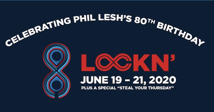 LOCKN' Announces 2020 Lineup: Phil Lesh Quintet, JRAD With John Mayer & Phil Lesh, Gov't Mule, More