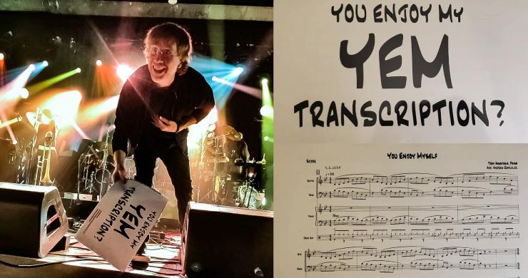trey anastasio band phoenix, trey anastasio band yem transcription, you enjoy myself fan transcription