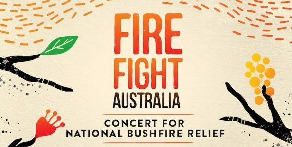 Fire Fight Australia, Queen, Adam Lambert, Alice Cooper, k.d. lang, Olivia Newton-John, Celeste Barber