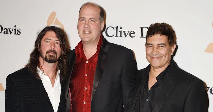 Dave Grohl, Krist Novoselic and Pat Smear of Nirvana Playing LA Gig