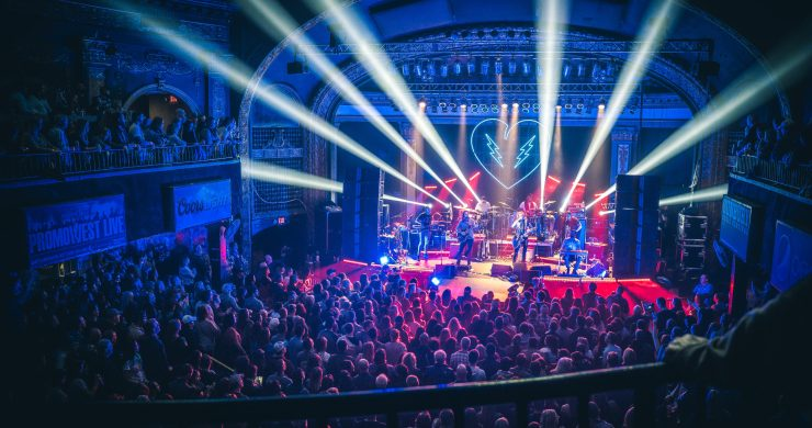 The Revivalists, Tank and the Bangas, The Revivalists Newport, Newport Music Hall, The Revivalists Into the Stars, Into the Stars tour, The Revivalists live