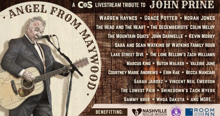 john prine, john prine livestream, warren haynes, marcus king, grace potter, norah jones, angel from milwood livestream