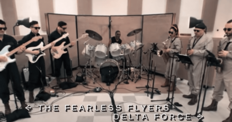 fearless flyers, fearless flyers tailwinds, fearless flyers album, fearless flyers new album, vulfpeck fearless flyers, fearless flyers tailwinds album, vulfpeck