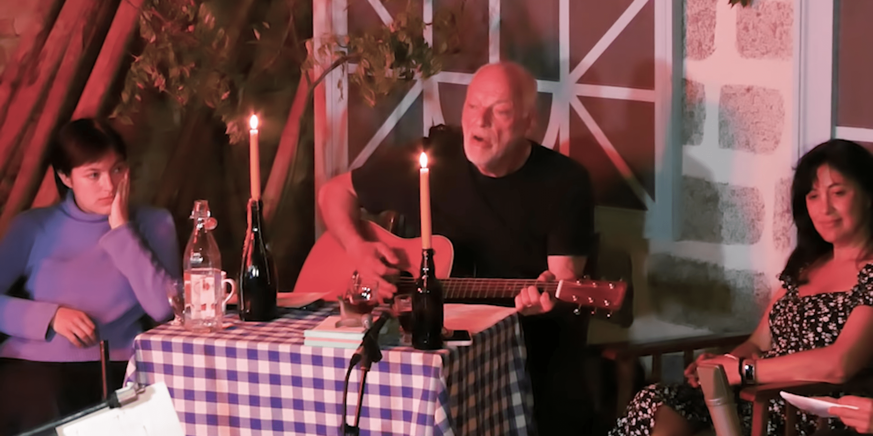 David Gilmour Covers Syd Barrett During Family Live Stream [Watch]