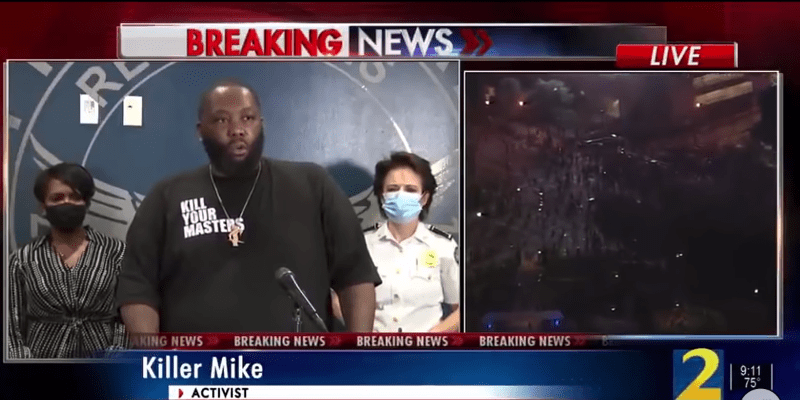 Eminem Shouts Out Killer Mike's Protest Speech: