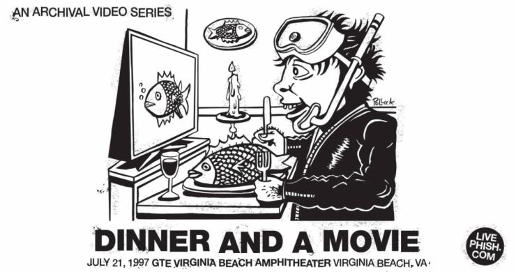 phish, phish dinner and a movie, phish virginia beach, phish virginia beach 1997, phish 7/21/97, phish webcast