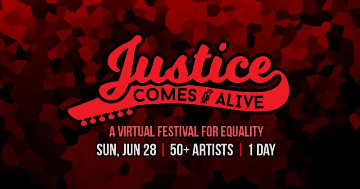 Justice Comes Alive, Justice Comes Alive Virtual Festival, Justice Comes Alive l4lm, livestream festival, virtual festival