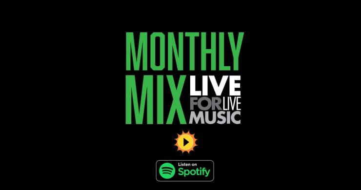 l4lm monthly mix, new music playlist, best playlist, classic music playlist, funky playlist, summer playlist, live for live music playlist