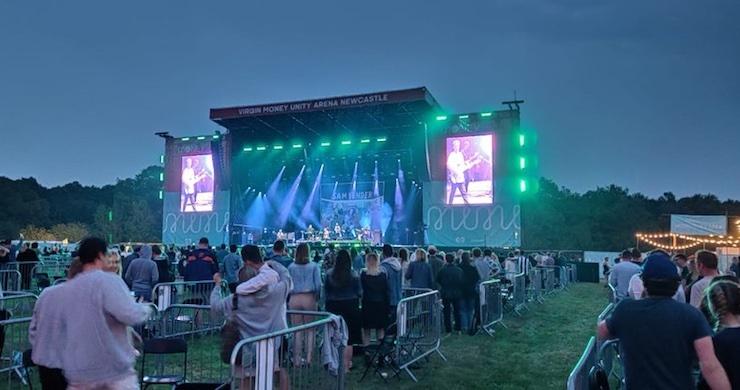 sam fender, sam fender outdoor concert, U.K. outdoor concert, virgin money unity arena, newcastle concert
