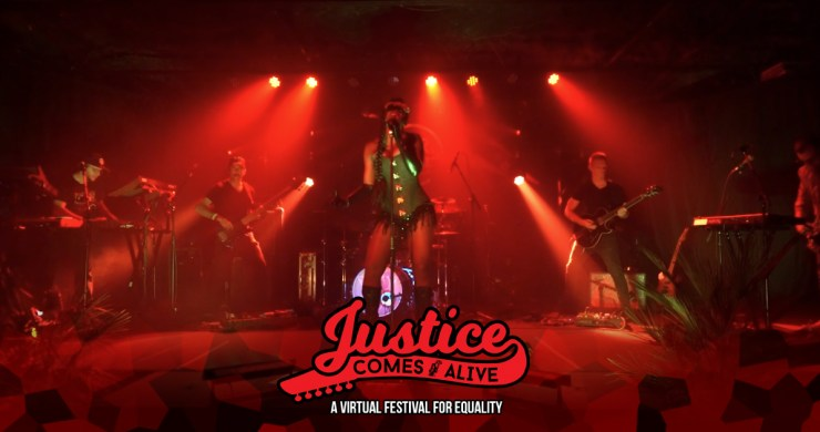 doom flamingo, doom flamingo justices comes alive, ryan stasik, umphrey's mcgee, Thomas Kenney, Mike Quinn, Kanika Moore, Ross Bogan, Stu White, doom flamingo blade, doom flamingo EP, doom flamingo doom, justice comes alive, jca