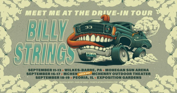 billy strings, billy strings drive-in, billy strings meet me at the drive-in