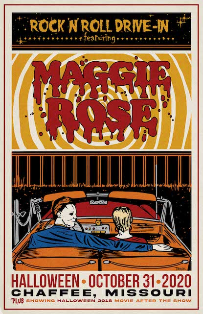 Maggie Rose Hallowen Drive In